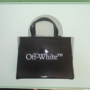 OFF WHITE BABY BOX BAG NWT